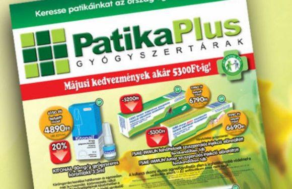 Patika Plus májusi magazin
