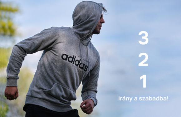 Férfi sportruházat a meleg őszi napokra!