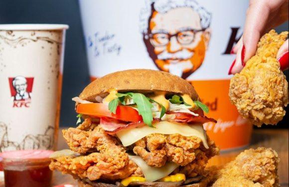 Kóstold meg a KFC leggrandiózusabb burgerét!
