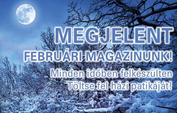Patika Plusz – februári magazin
