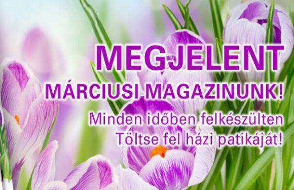 PatikaPlus márciusi kiadvány