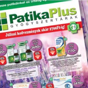 Patika Plus – Minden időben felkészülten