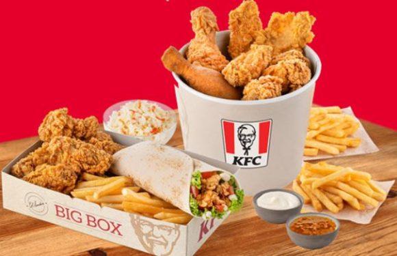KFC Sorbanállás nélkül
