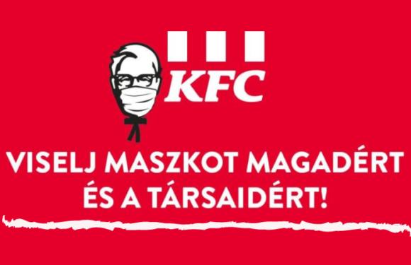 A KFC nem áll meg!