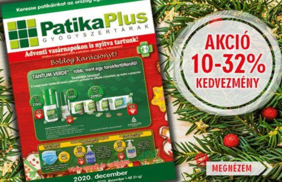 Patika Plus – decemberi magazin